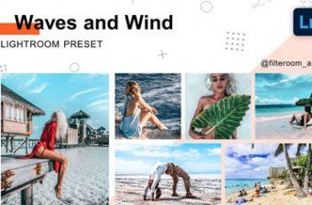 Waves & Wind Lightroom Presets