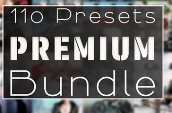 110 Premium Lightroom Preset Bundle