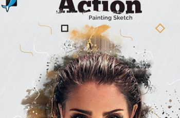Painting Sketch Photoshop Action