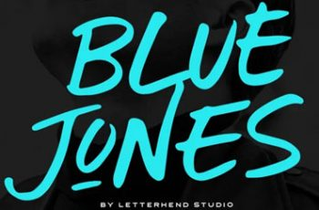 Blue Jones Font