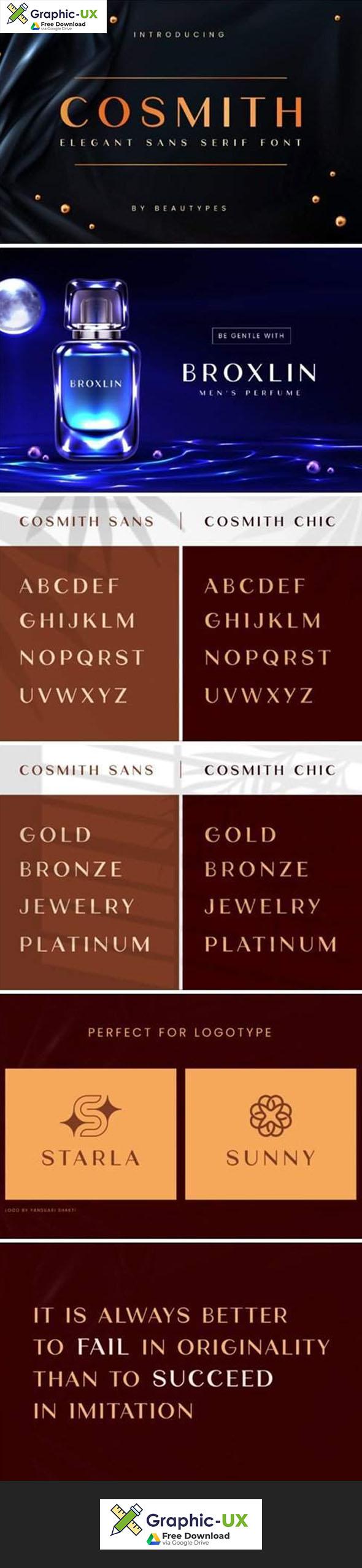 Cosmith Font