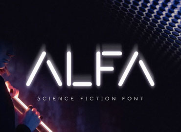 Alfa Minimal Science Font