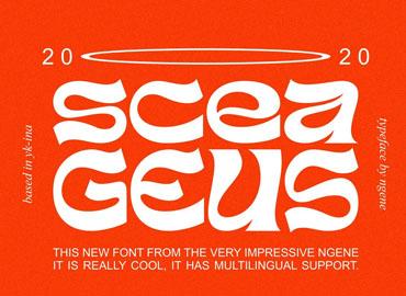 Sceageus Font