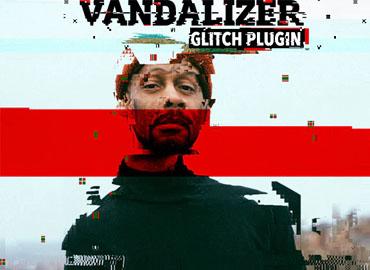 Glitch Vandalizer Photoshop Plugin