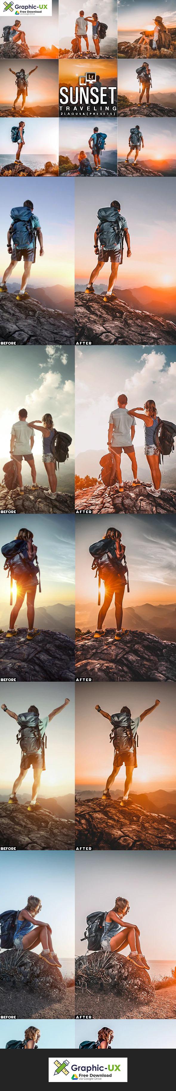 Sunset Traveling 7 Presets (Mobile & Desktop)