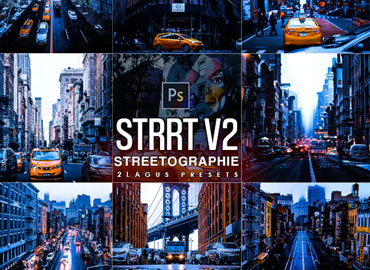 Streetographie V2 - Cinematic Photoshop Actions