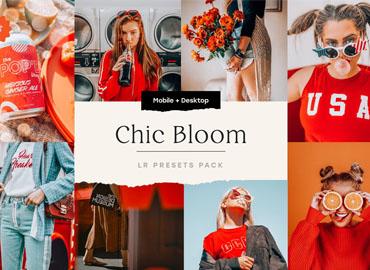 Chic Bloom 4 Lightroom Presets Set