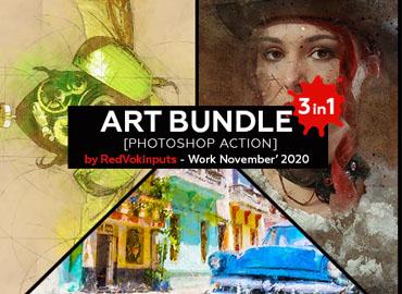 Art Bundle Photoshop Action