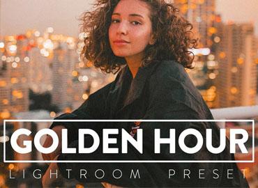 10 GOLDEN HOUR Lightroom Preset