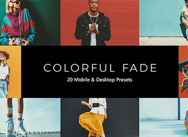 20 Colorful Fade Lightroom Presets & LUTs