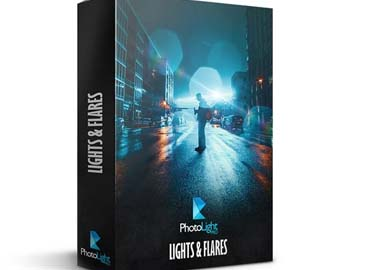 Lights And Flares Pack PhotoLightPro