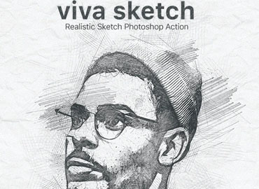 Viva Sketch Photoshop Action