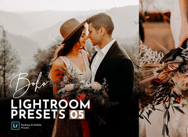 Boho Wedding Lightroom Presets Pack