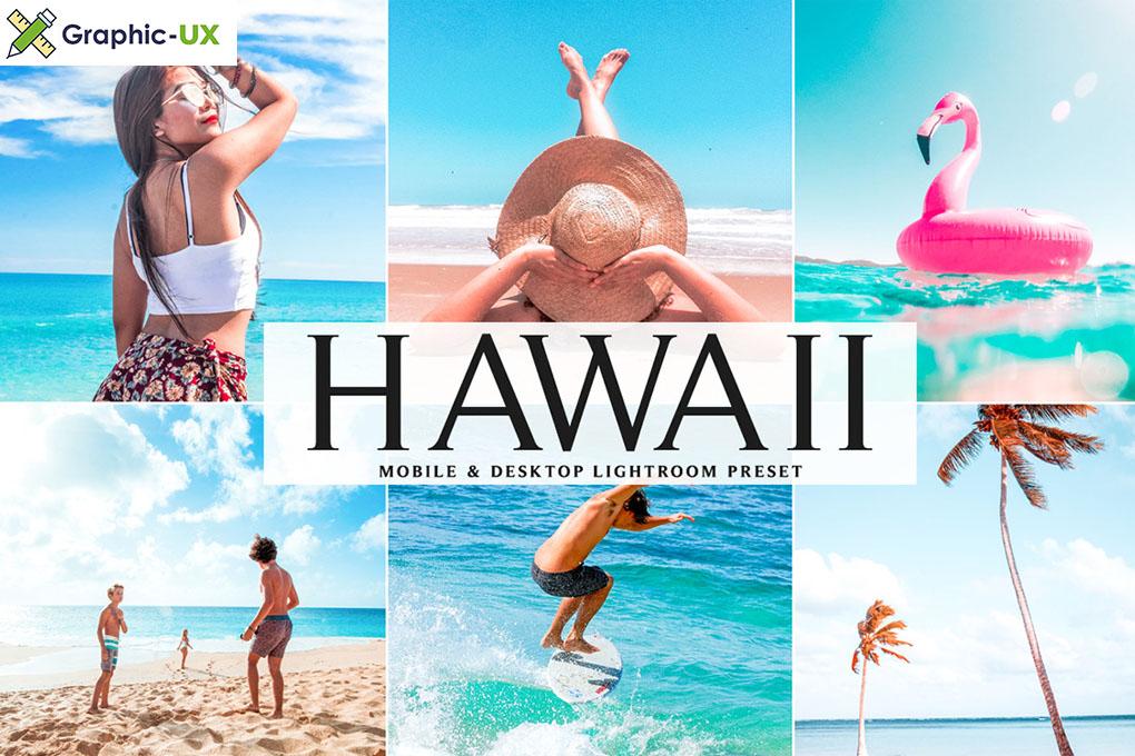 Desktop Lightroom Presets HAWAII