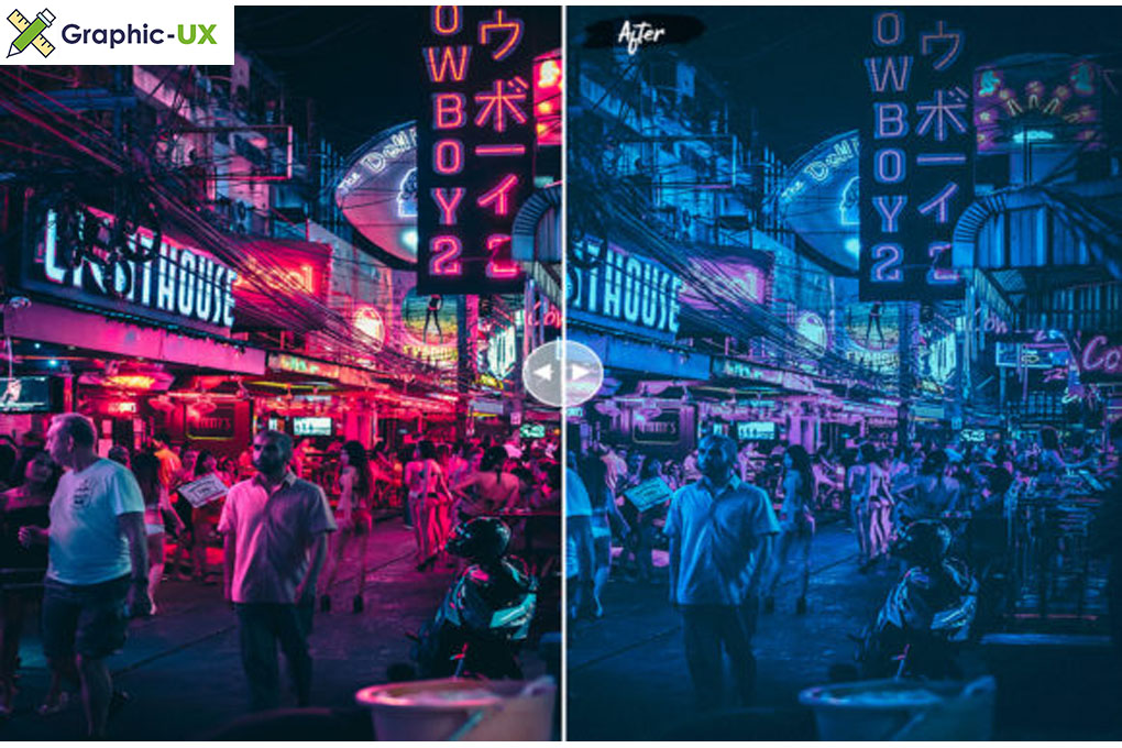 Techno Lightroom Presets