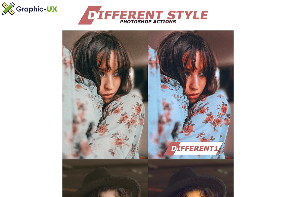 Different Style Photoshop Actions