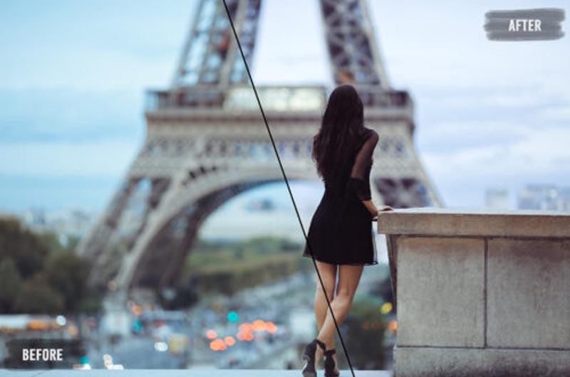 20 Paris LUTs Pack