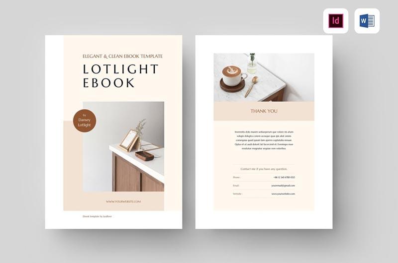 Ebook MS Word & Indesign