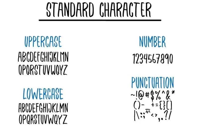 Qrantley A Handmade Font