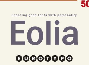 Eolia Font Family