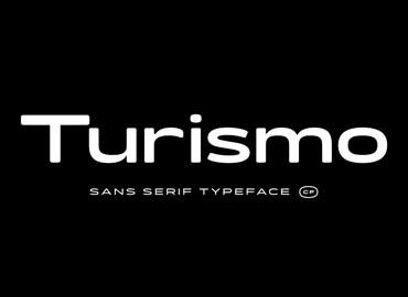 Turismo CF Modern & Automotive Font