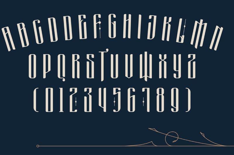 Masquerouge Victorian Font
