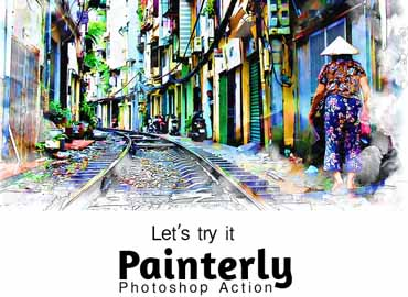 Painterly Action