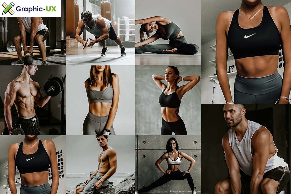 Fitness Lightroom Mobile Presets