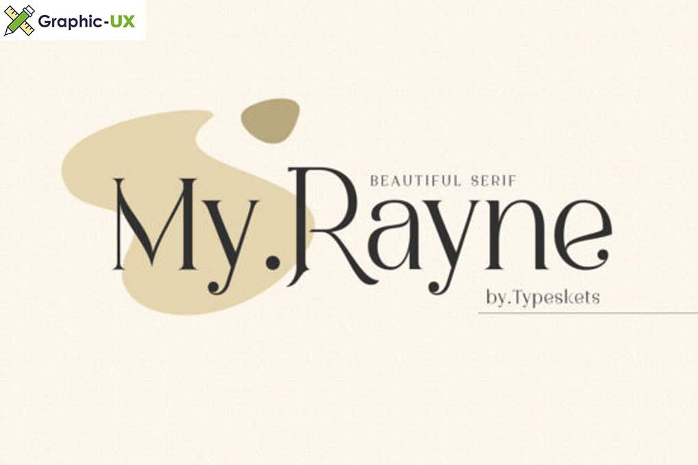 My Rayne Font