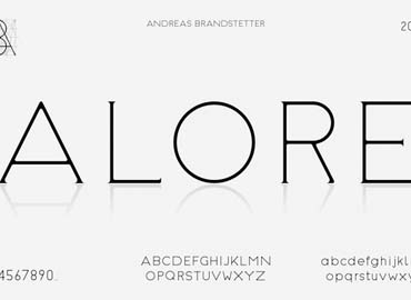 Alore Font