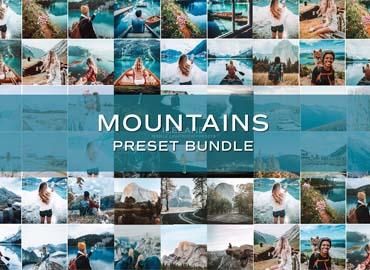 45 Mountain Lightroom Preset Bundle