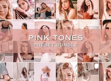 30 Pink Lightroom Preset Bundle