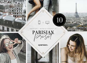 Parisian Lightroom Presets Bundle