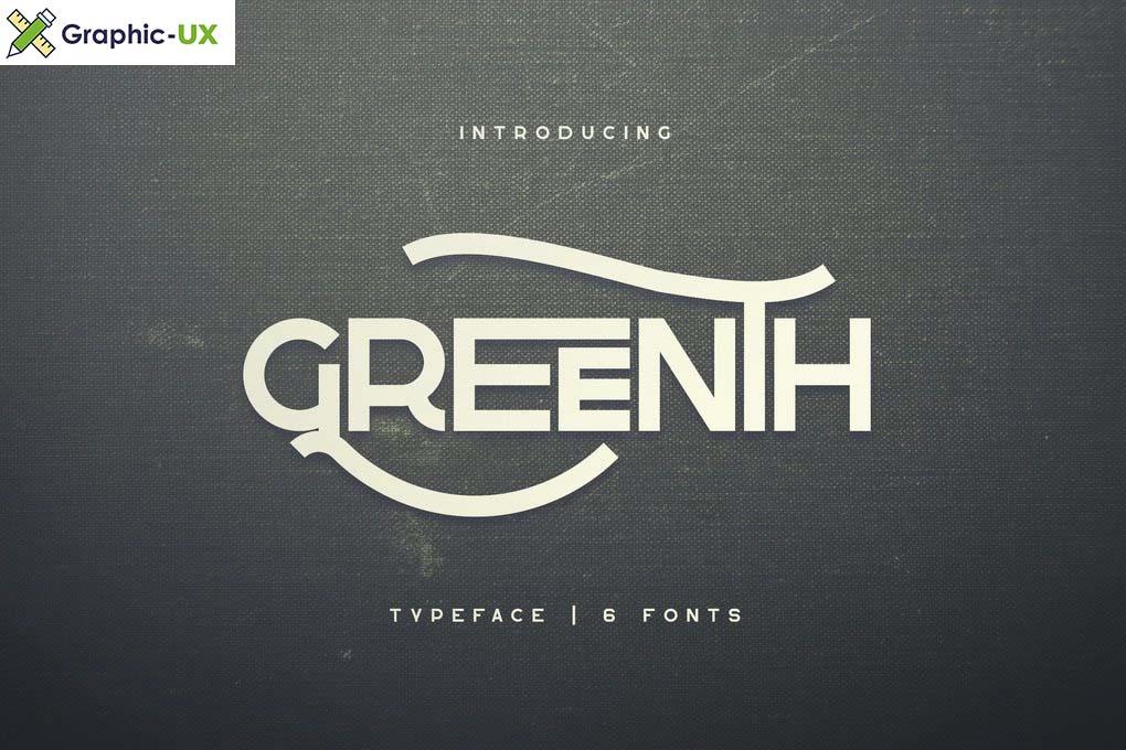 Greenth Font