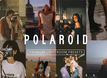 POLAROID Moody Film Vintage Presets