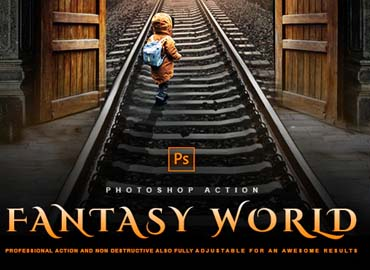 Fantasy World - Photoshop Effect