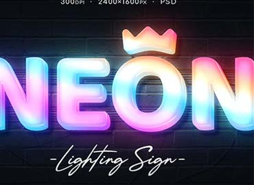Neon Wall Sign Creator