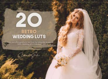 20 Retro Wedding LUTs Pack