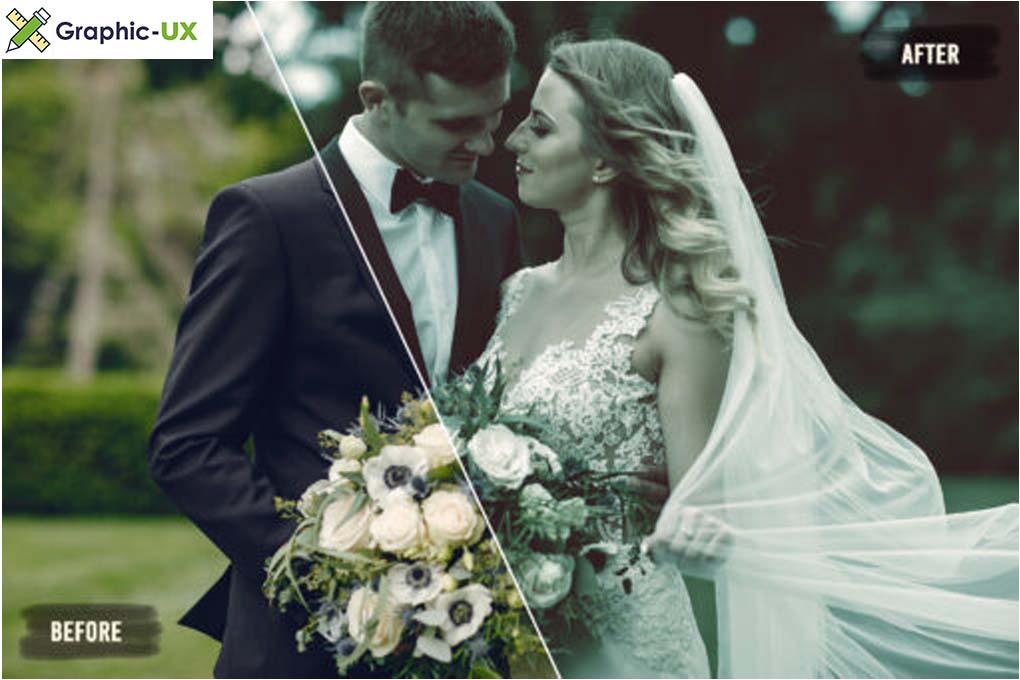 50 Avantgarde Wedding LUTs Pack