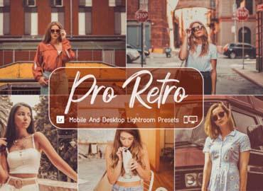 10 Pro Retro Mobile Desktop Lightroom