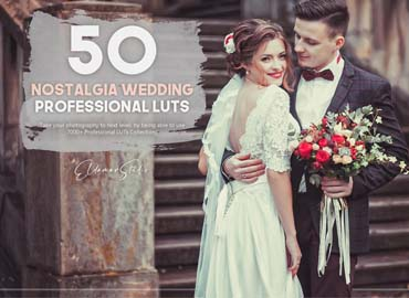 50 Nostalgia Wedding LUTs Pack