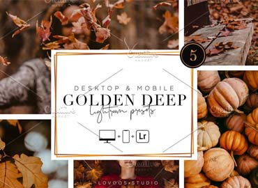 GOLDEN DEEP - Lightroom Presets