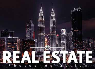 15 Real Estate Photoshop action