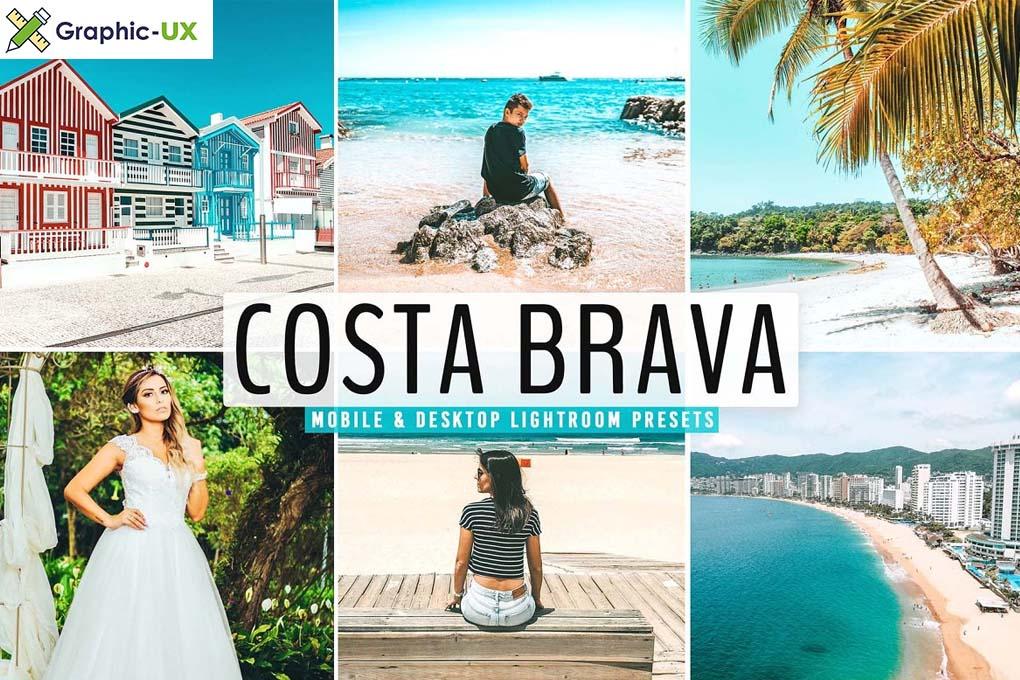 Costa Brava Pro Lightroom Presets