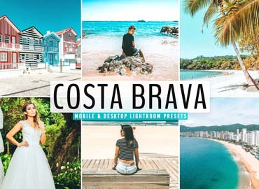 Costa Brava Pro Lightroom Presets
