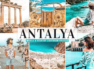 Antalya Pro Lightroom Presets