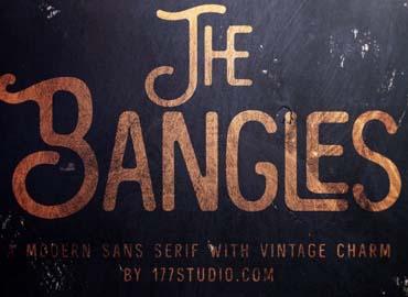 The Bangles Vintage Font