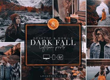 DARK FALL Lightroom Presets