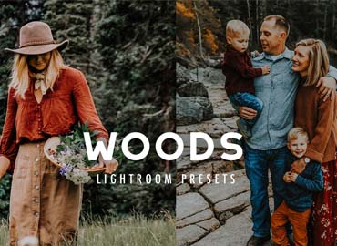 7 WOODS FOREST LIGHTROOM PRESETS