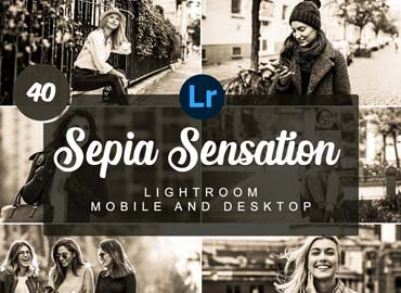 Sepia Sensation Mobile PRESETS